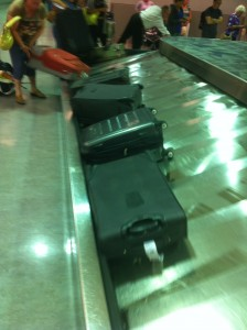 Our Bags all came off the plane at the same time and in FIRST PLACE